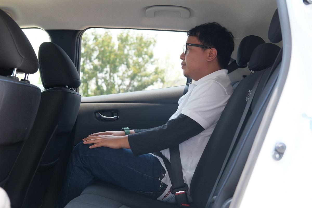 Begini Rasanya Menumpang di Mobil Listrik Nissan Leaf