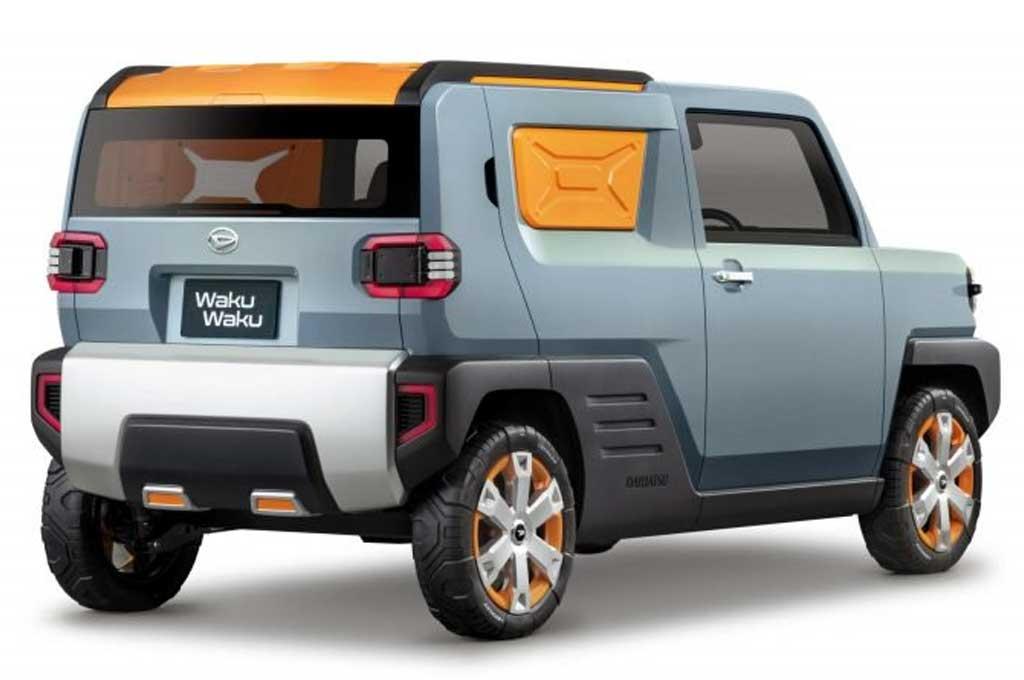 Daihatsu Waku Waku Concept, Bakal Pesaing Suzuki Jimny?