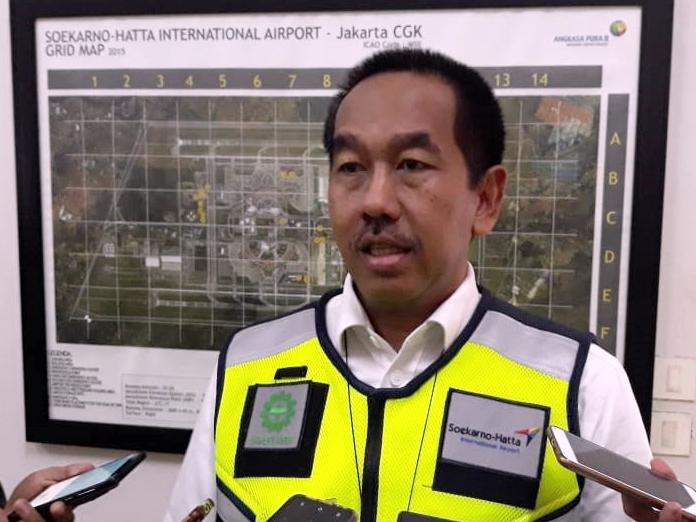 Bandara Soekarno-Hatta Sepi Penumpang