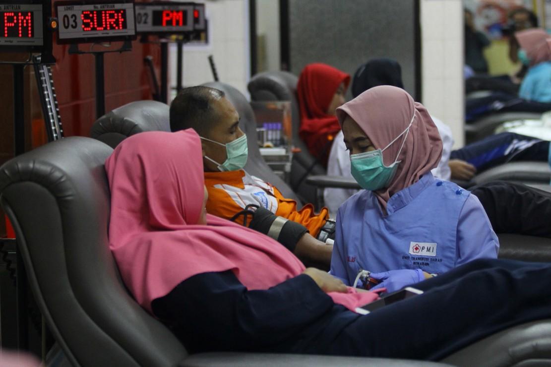Pandemi Korona Menyerang, Stok Darah Berkurang
