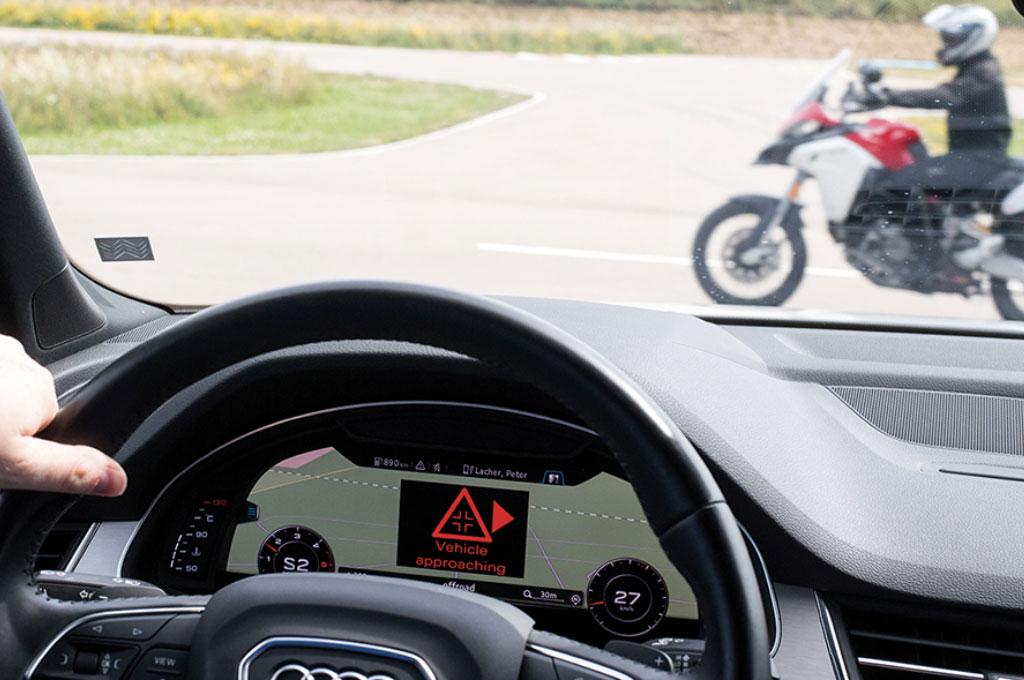 Motor Ducati Bisa Bicara dengan Mobil Audi, Kok Bisa?