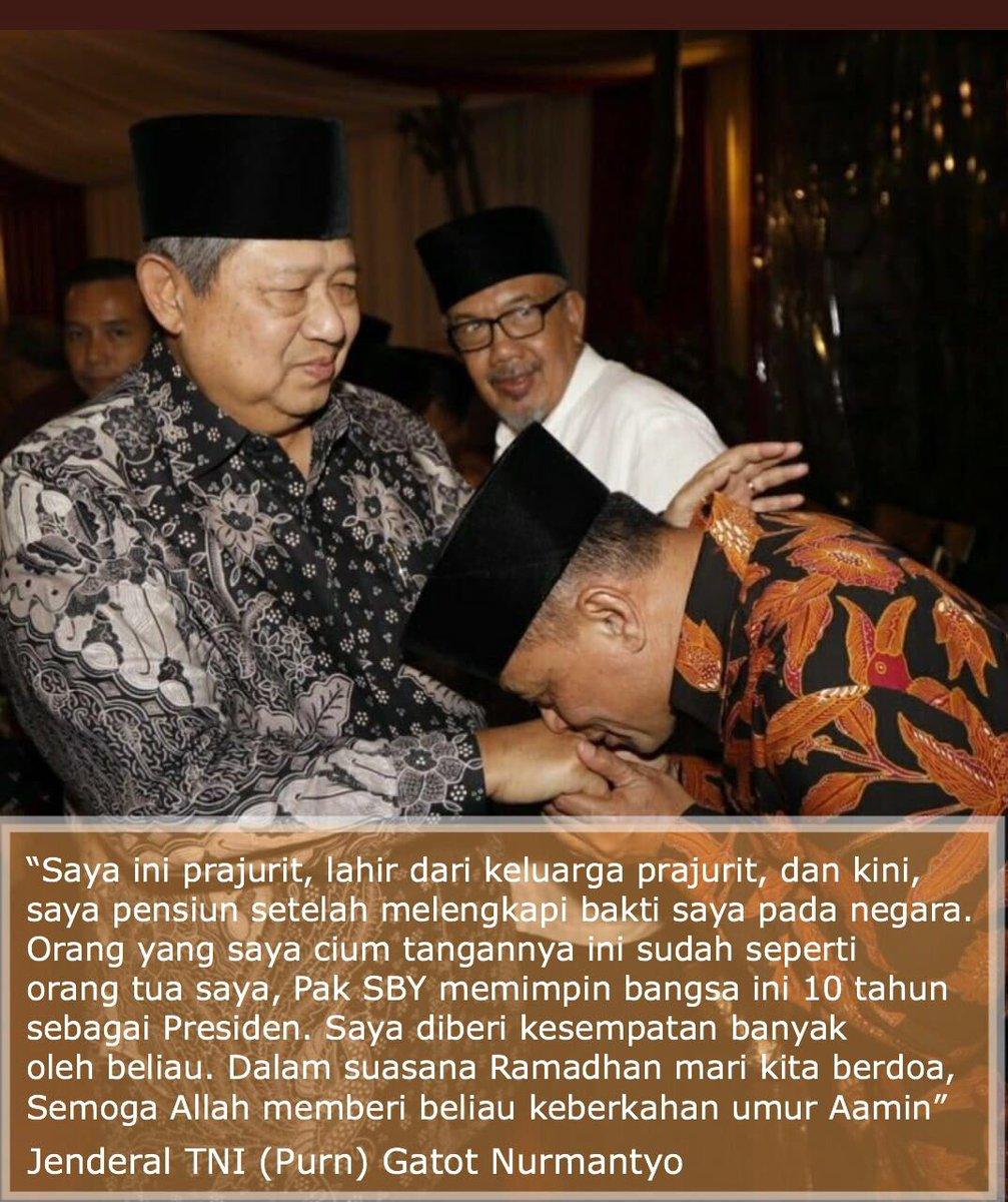Gatot dan SBY Disebut Punya Ikatan Emosional Kuat - Medcom.id