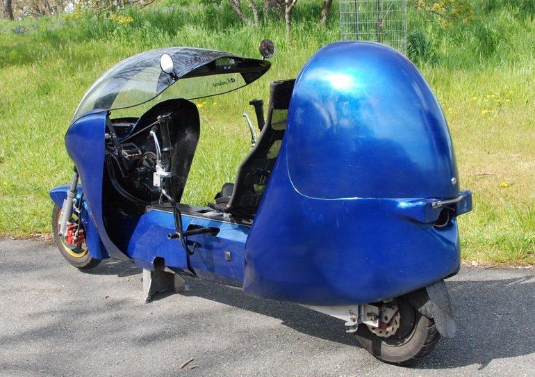 Intip Sepeda Motor Listrik 'Electrom' Karya Fabrizio Cross
