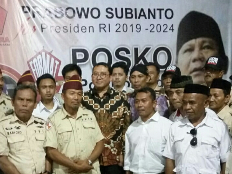 Posko Pertama di Solo 'Prabowo for President' Diresmikan