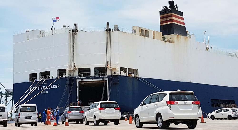 Ekspor Toyota Bertahan dari Gempuran Perang Dagang