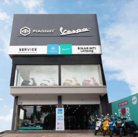 Lampung Menggoda, Dealer Baru Piaggio & Vespa Berdiri