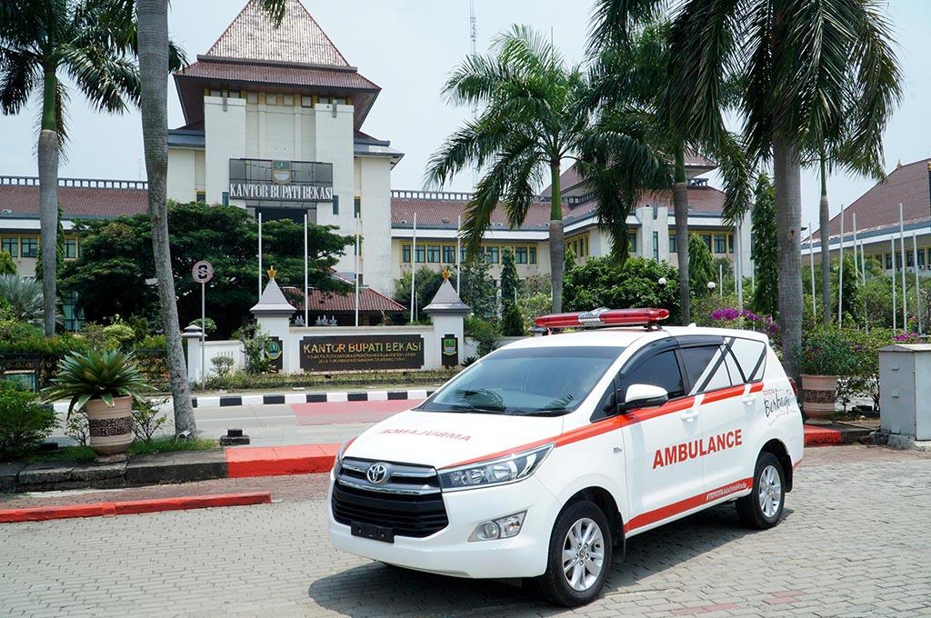 Efek Pandemik Covid-19, Penjualan Mobil Ambulans Meningkat