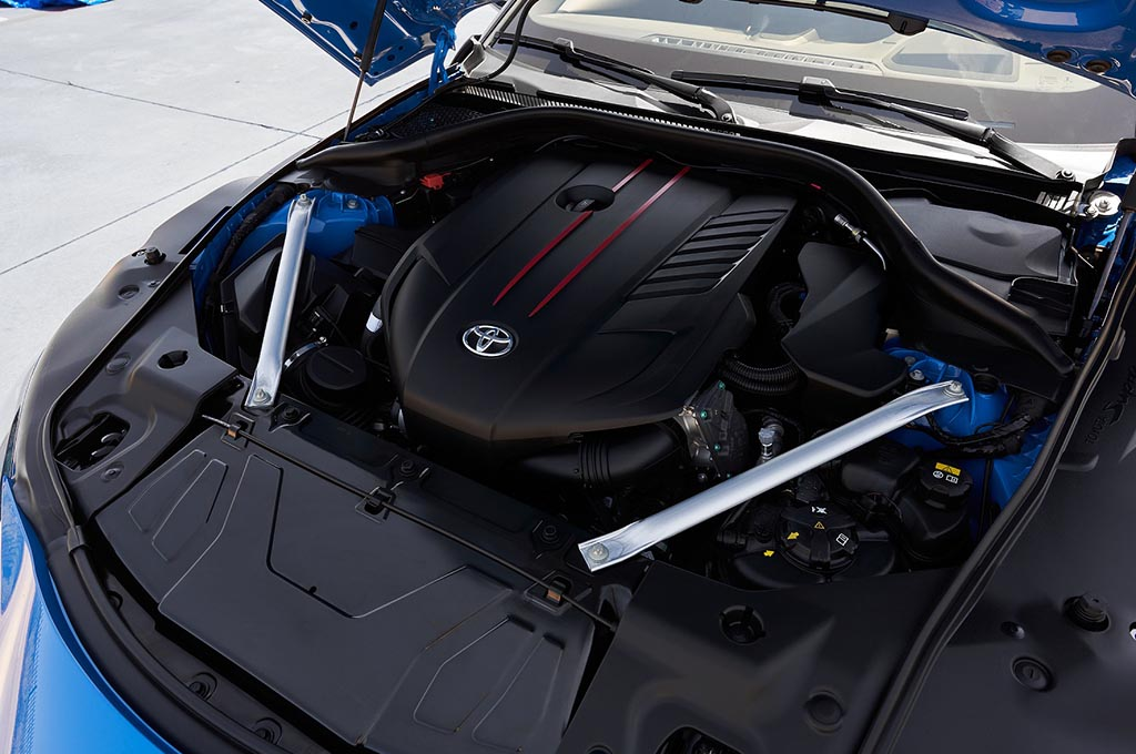 Toyota Suntik Tenaga Tambahan 47 PS di GR Supra