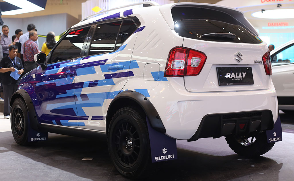 Suzuki Ignis Semakin Gagah Dengan Rally Concept Medcom Id