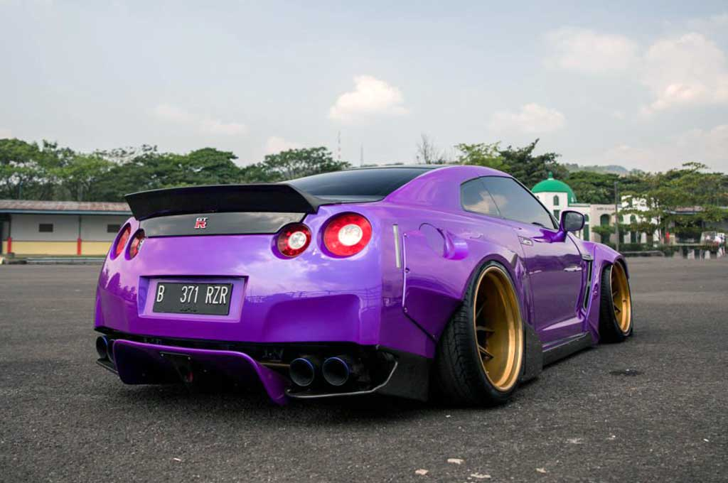 Nissan GT-R Fast & Furious ini Karya Modifikator Indonesia