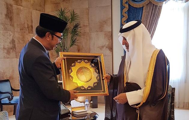 Bertemu Penasihat Raja Salman, Dubes RI Lobi Urusan Haji