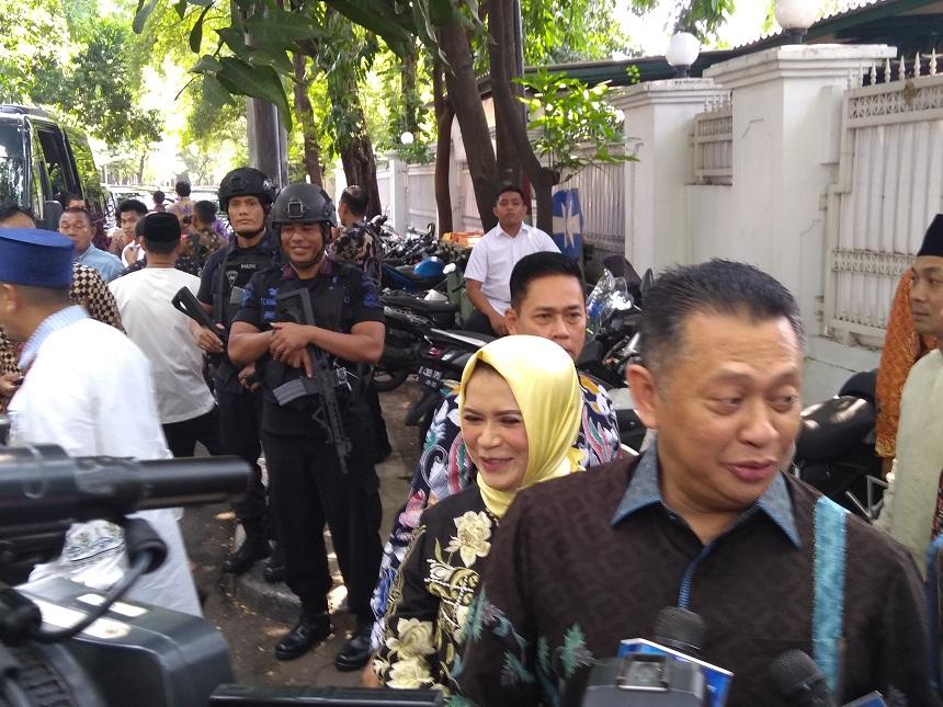 Menteri Hingga Ketum Parpol Silaturahmi ke Rumah Megawati