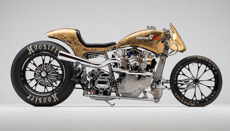 Intip Harley-Davidson Berukir Elemen Jepang Nan Unik