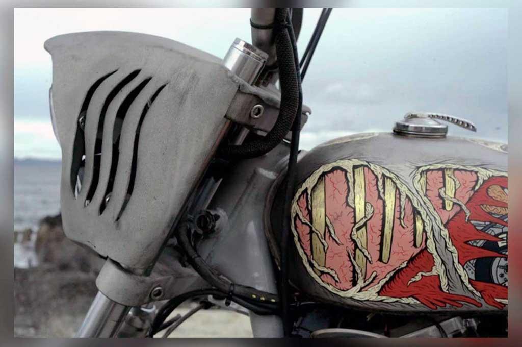 Modifikasi Harley-Davidson Sportster Bertema Hiu