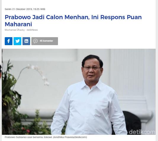 [Cek Fakta] Viral Foto Prabowo