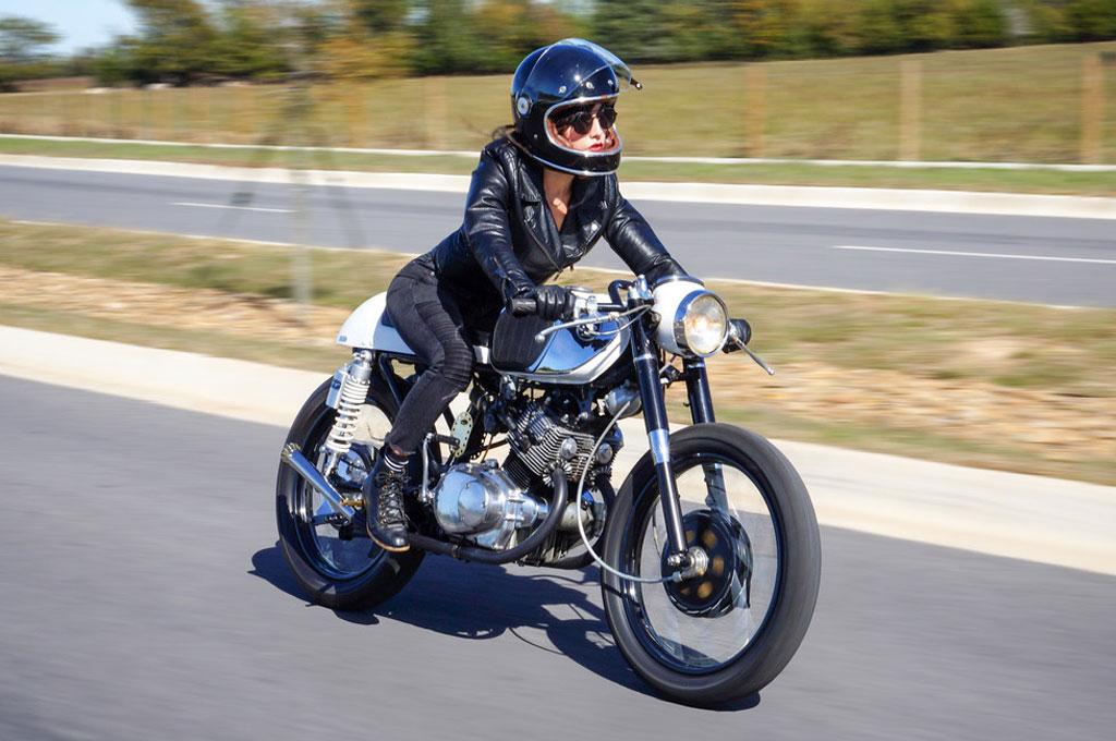 Cafe Racer Honda CB160 Karya Dokter Gigi