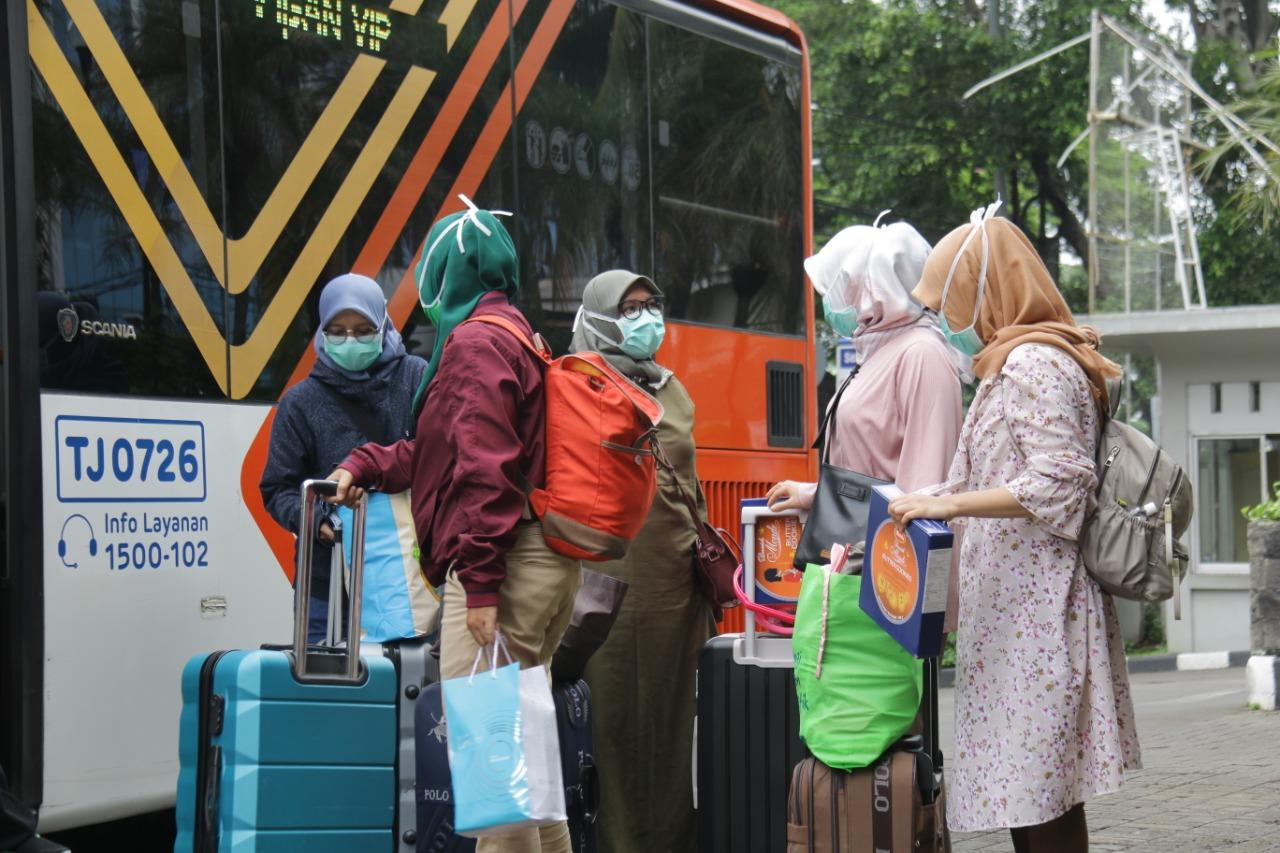 Hotel Tim Medis Korona Disempot Disinfektan Tiap Hari