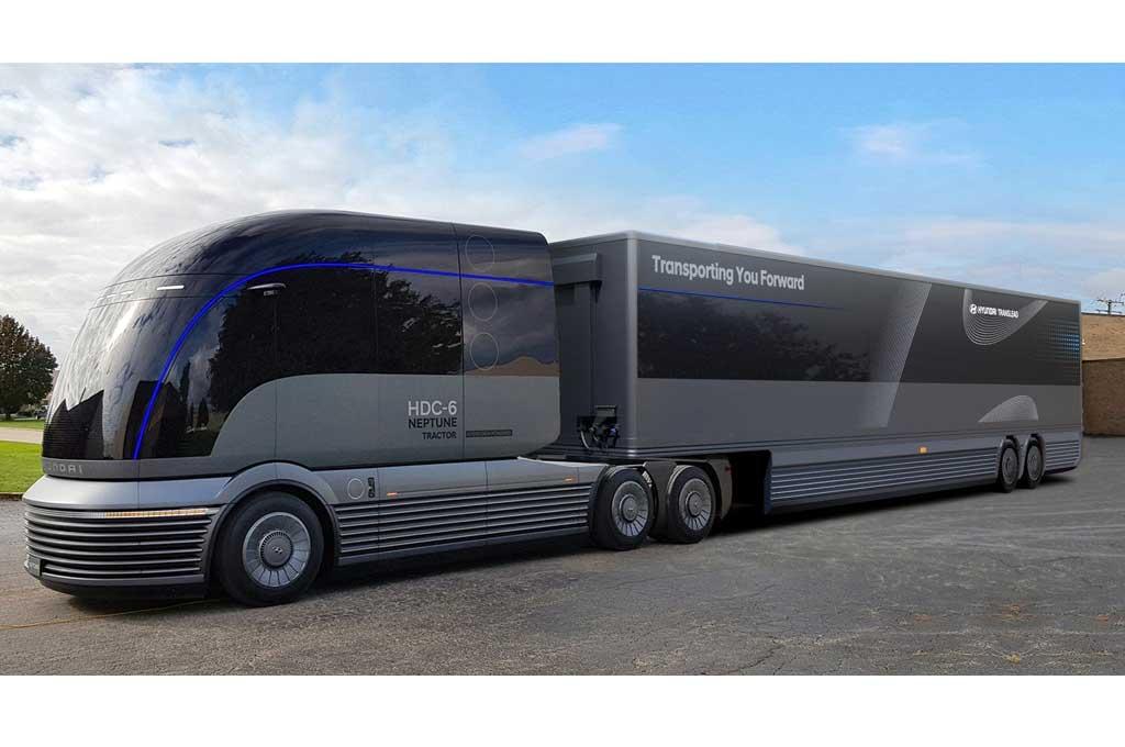 Hyundai HDC-6 Neptune Concept Sasar Pasar AS