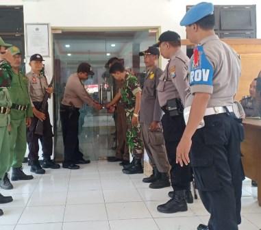 Polresta Sidoarjo Kawal Rekapitulasi di Tingkat Kecamatan