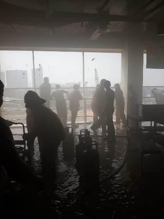 Food Court ITC Depok Terbakar