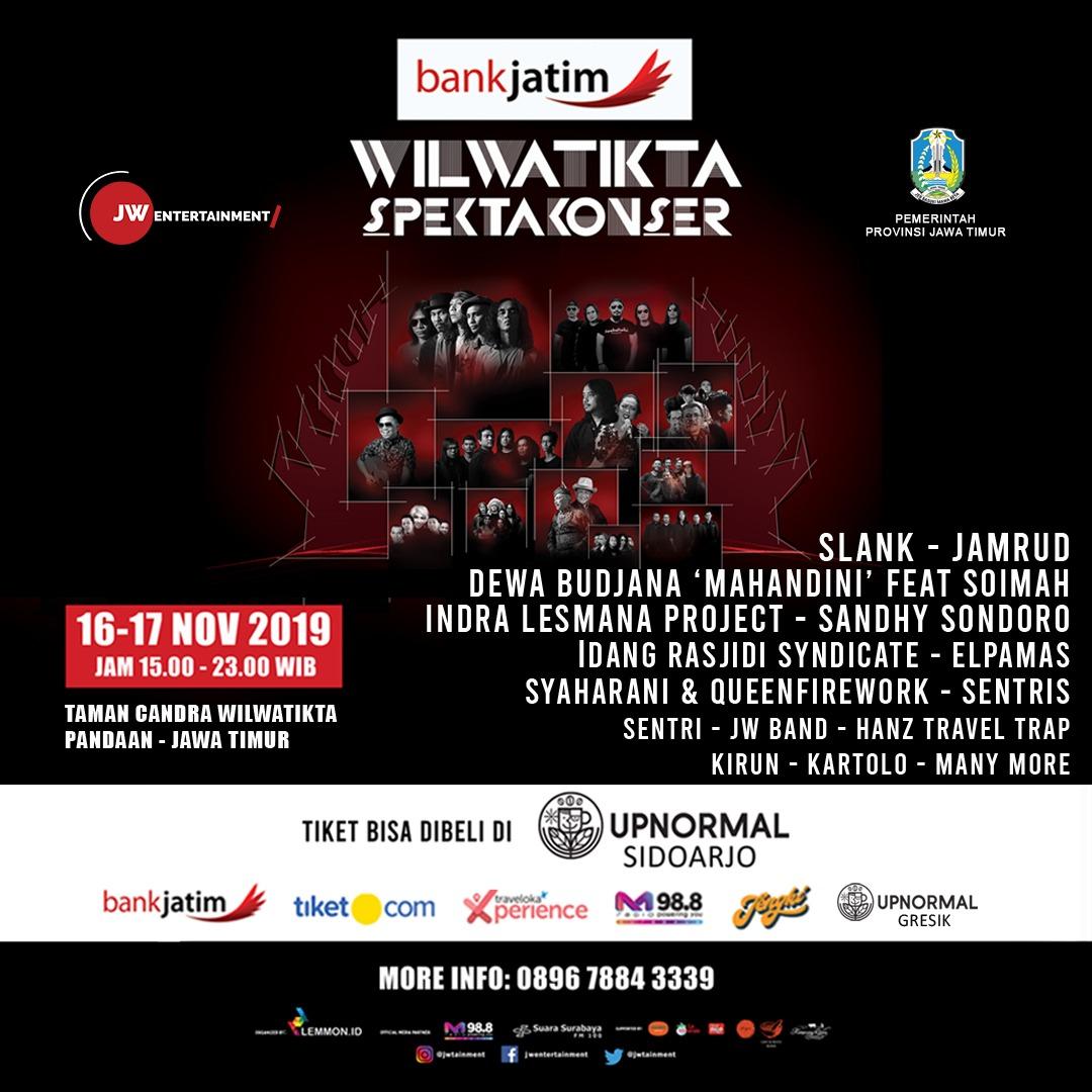 Slank dan Jamrud Meriahkan Konser Musik di Kawasan Eksotis Jawa Timur