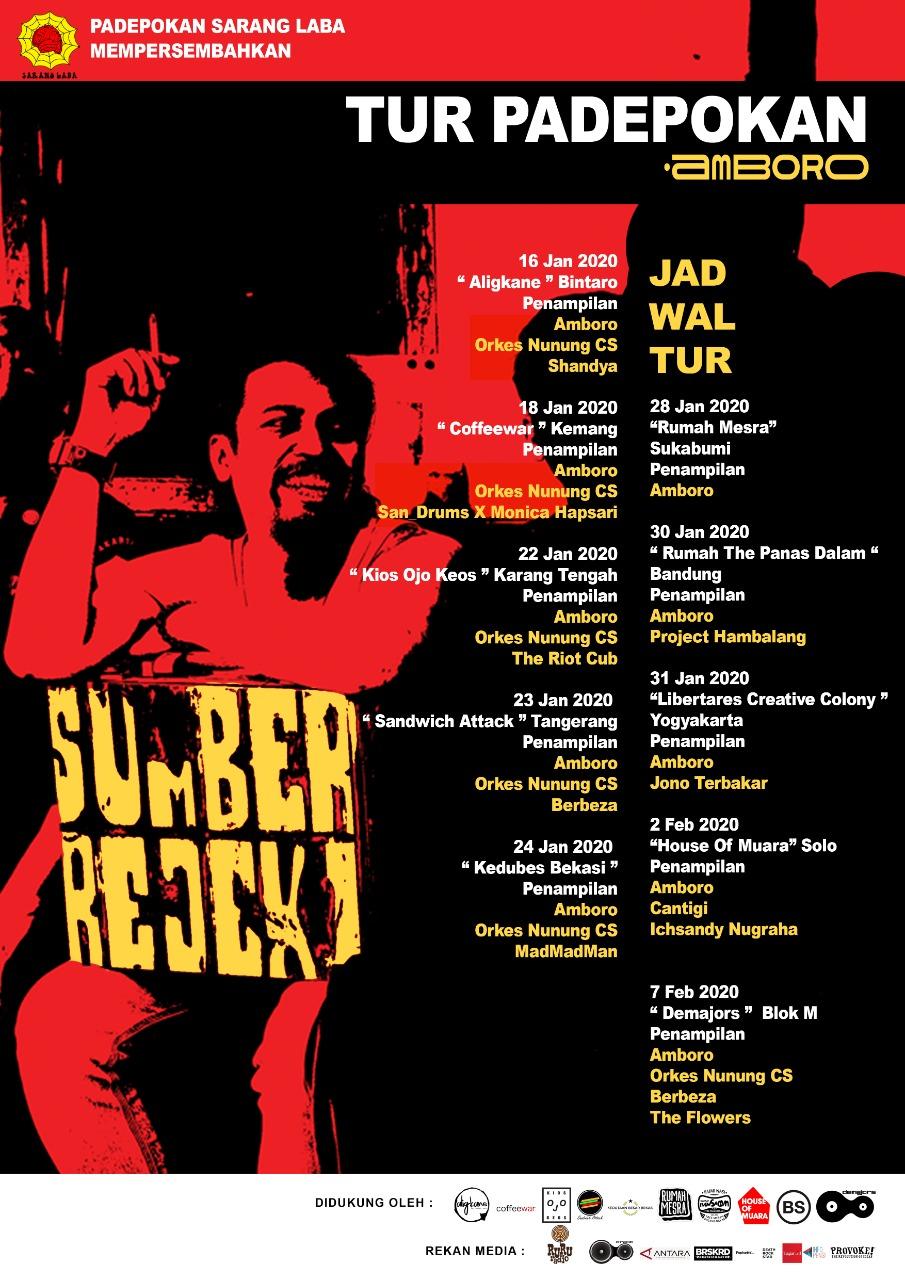 Amboro Rilis Album Debut dan Gelar Tur