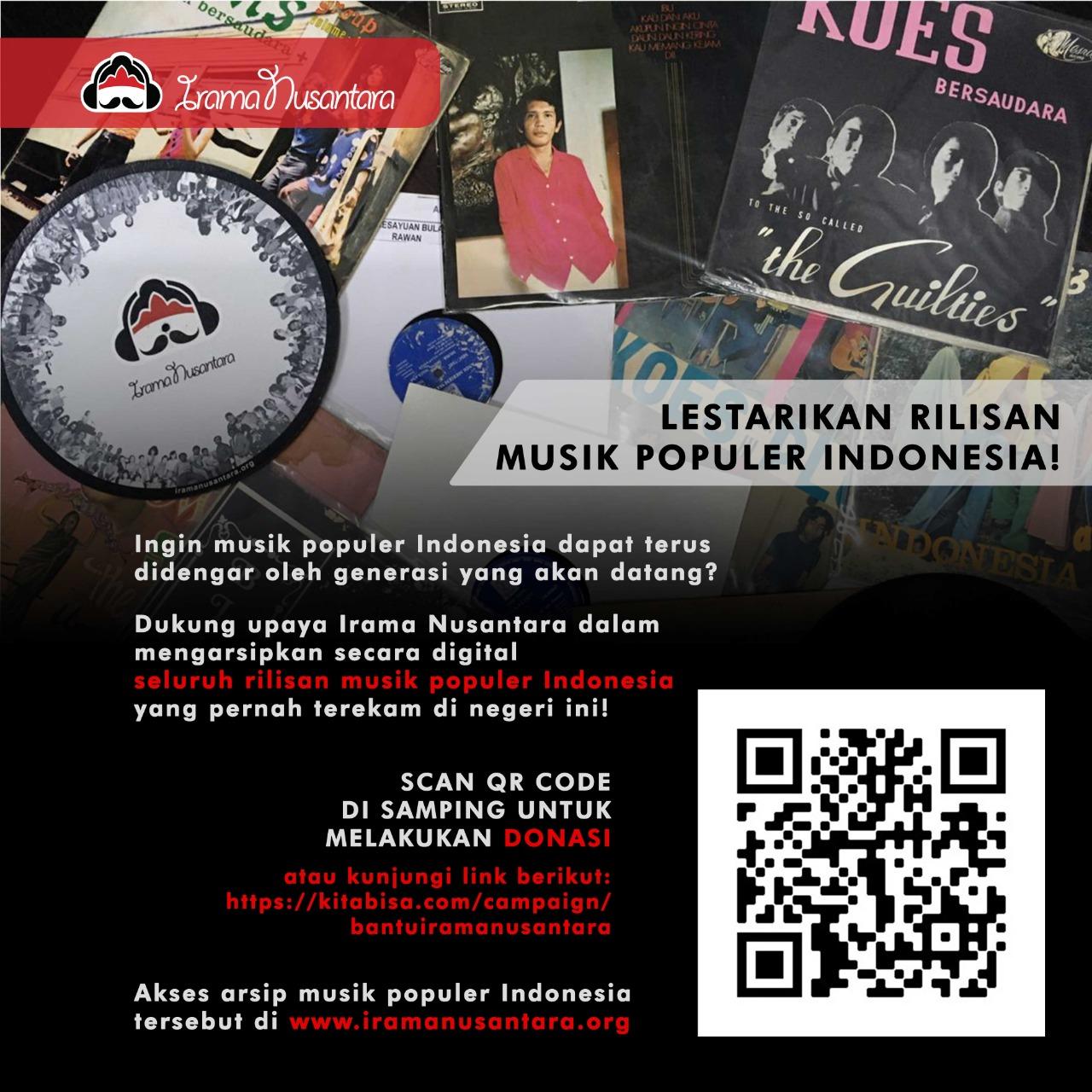Jalan Panjang Irama Nusantara Mengarsipkan Musik Indonesia