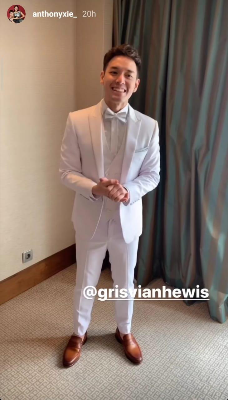 Cerita di Balik Jas Pernikahan Anthony Xie