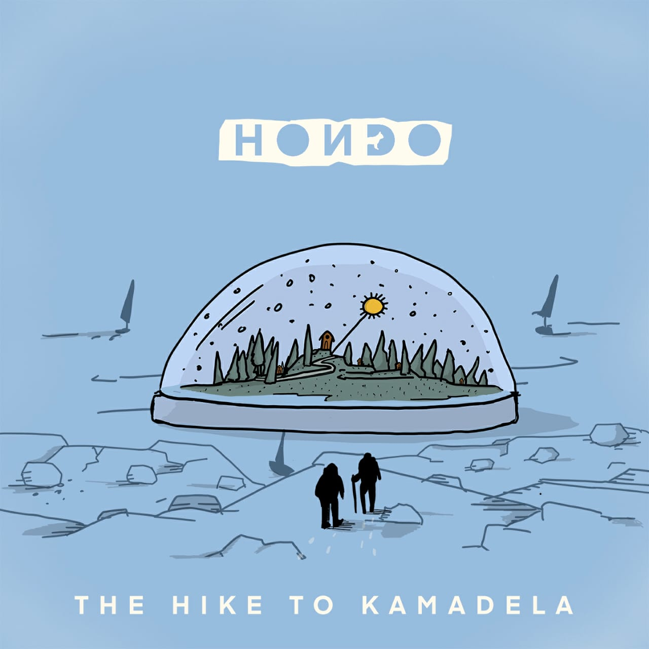 Hondo Rilis Album Debut The Hike to Kamadela