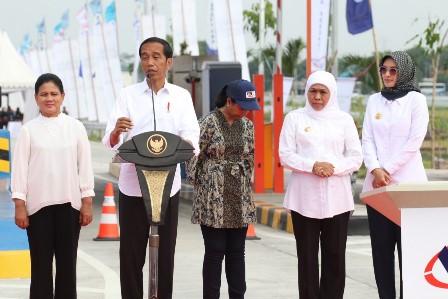 Jokowi Resmikan Tol Ruas Pasuruan-Probolinggo