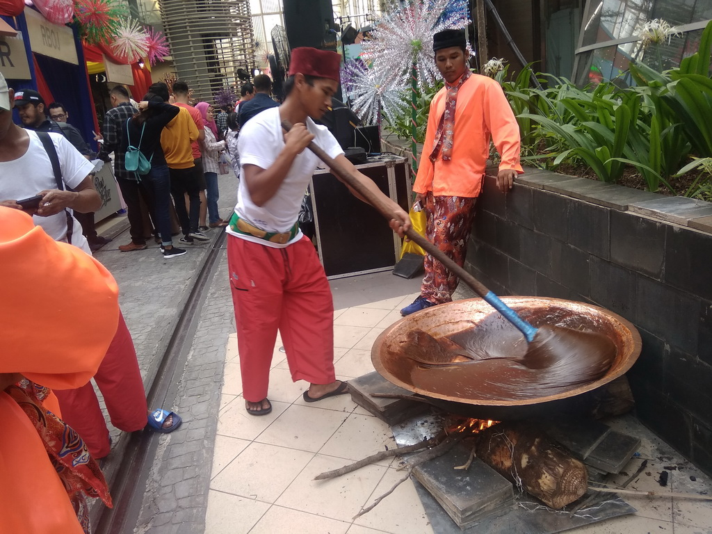 Nuansa Betawi di Premier Si Doel The Movie di Jakarta