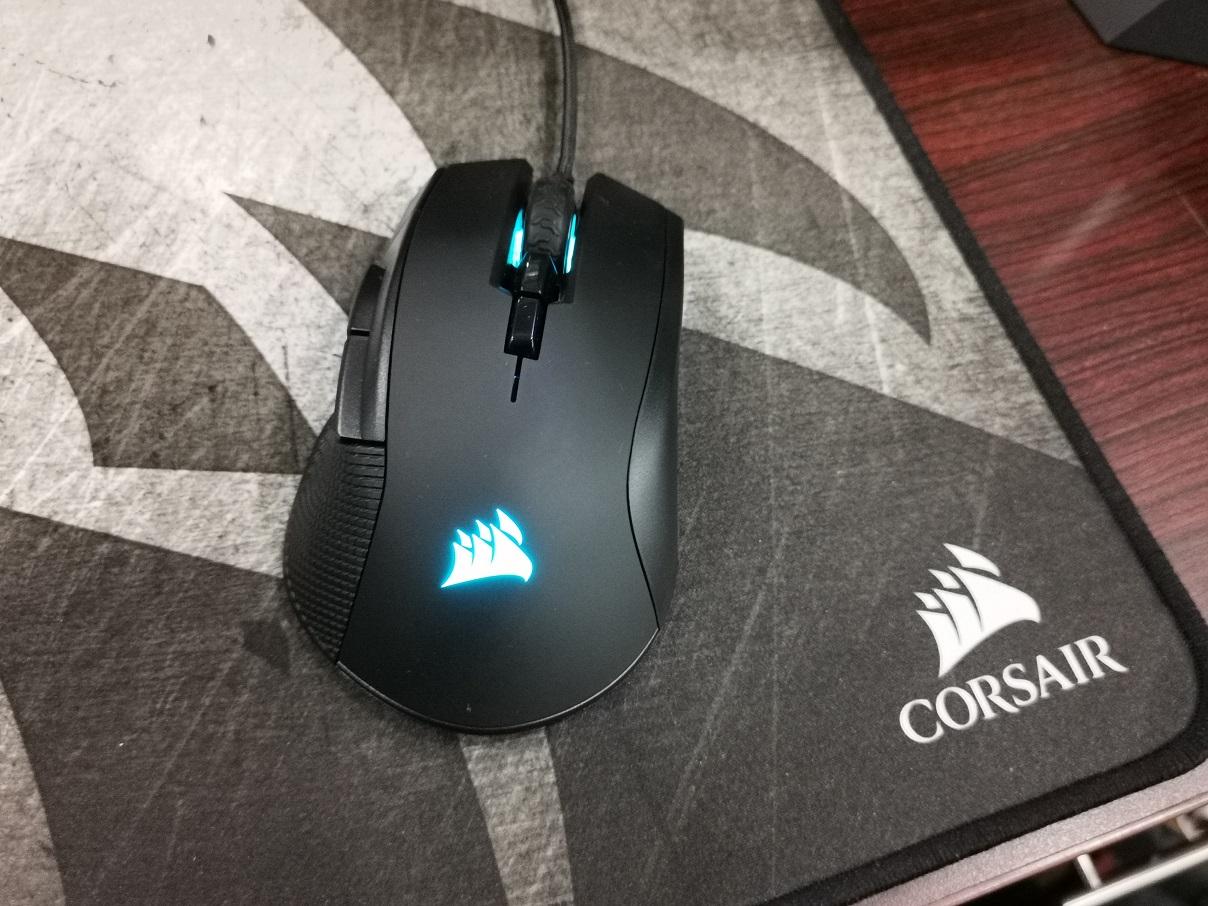 Corsair Ironclaw RGB, Andalan Game FPS dan MOBA