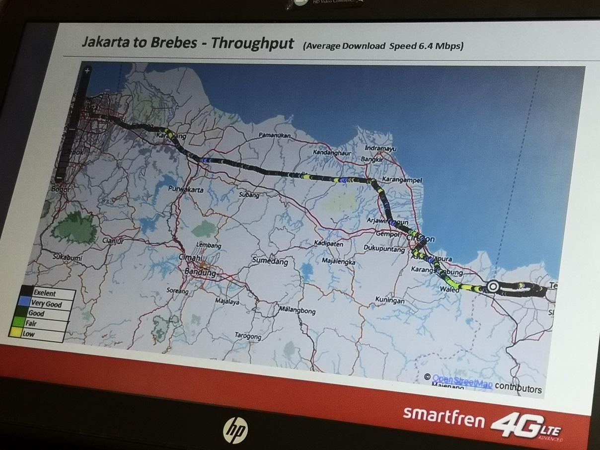 Smartfren Pasang 180 COW di Jalur Mudik Jawa