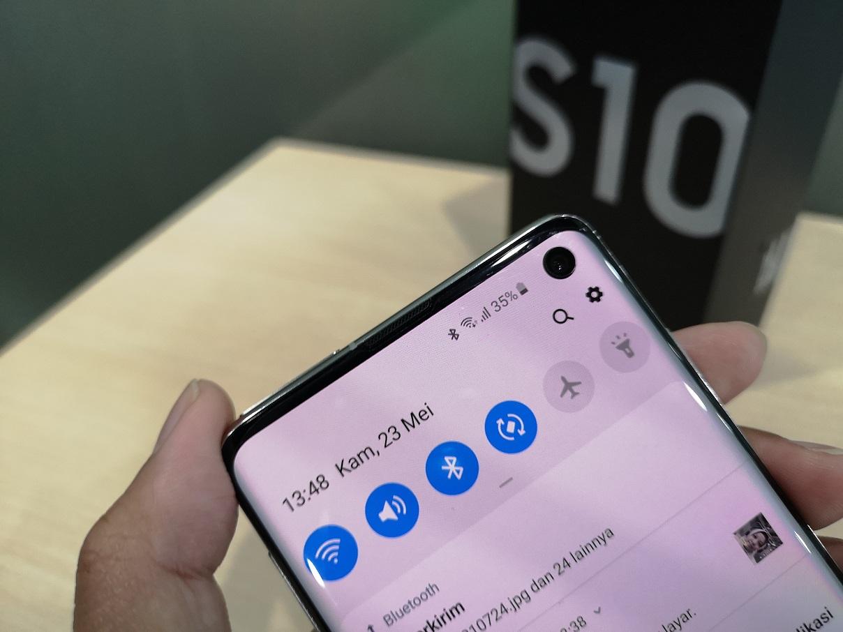 Samsung Galaxy S10, Tetap Oke Tanpa Plus