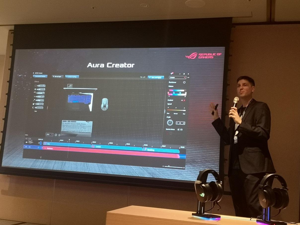 Aura Creator Maksimalkan RGB di ASUS ROG