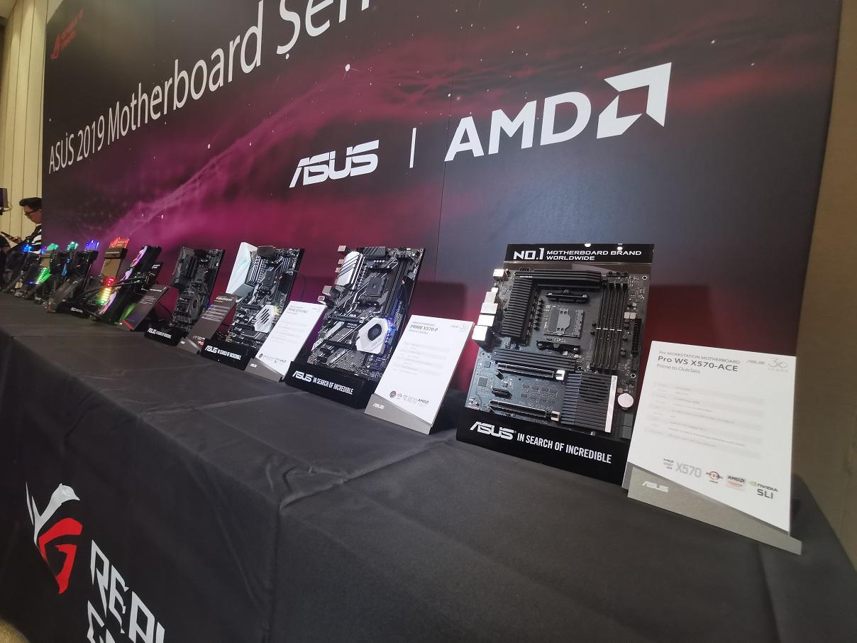 Jajaran Motherboard Futuristik ASUS Adopsi AMD X570