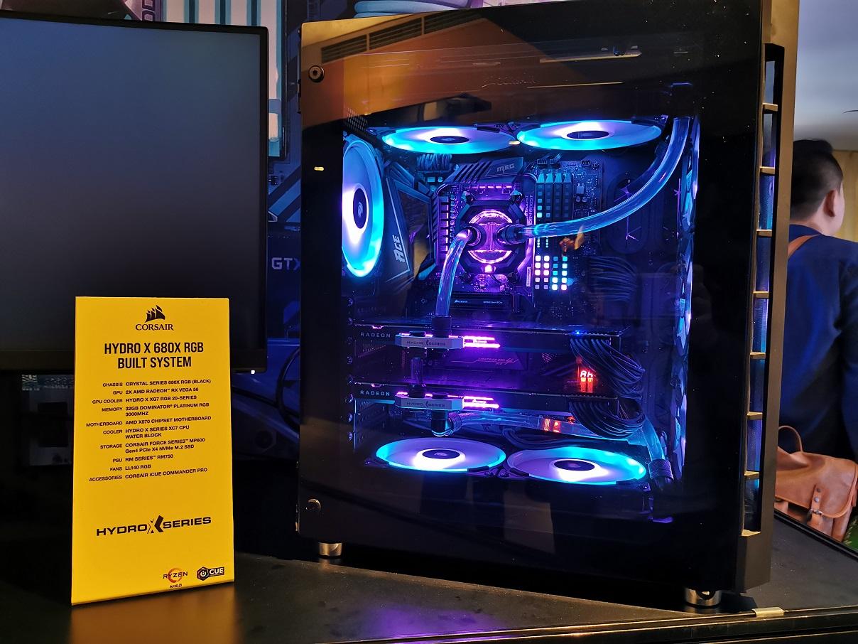 Corsair Hydro X Series, Aksesori Lengkap Sistem Pendingin PC