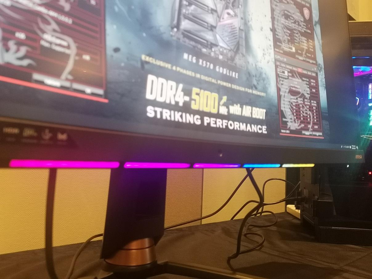 MSI Ciptakan Monitor Gaming Teknologi Kecerdasan Buatan