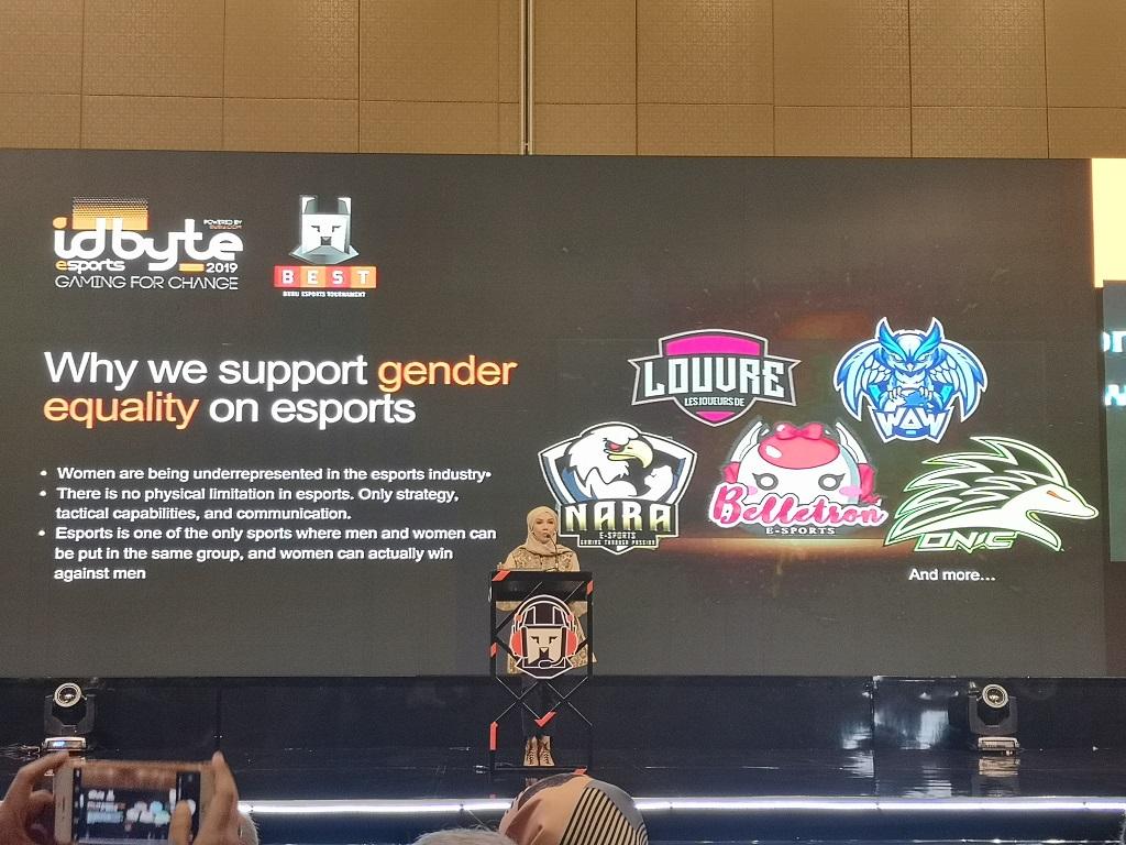 Melihat Kesetaraan Gender di IDBYTE Esports 2019