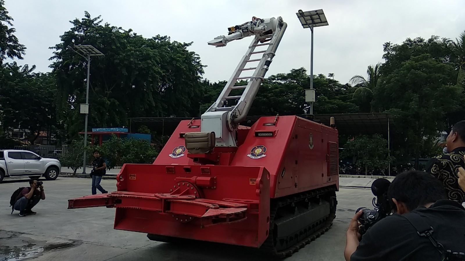 Rp40 Miliar Anggaran DKI untuk Robot Damkar