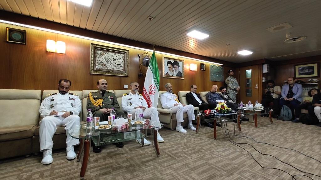 Kapal Perang Iran Berlabuh di Priok