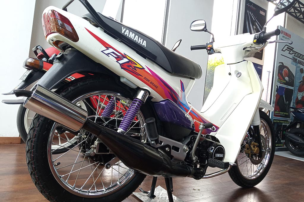 Ada Yamaha F1Z di Dealer Resmi, Kembali di Jual?