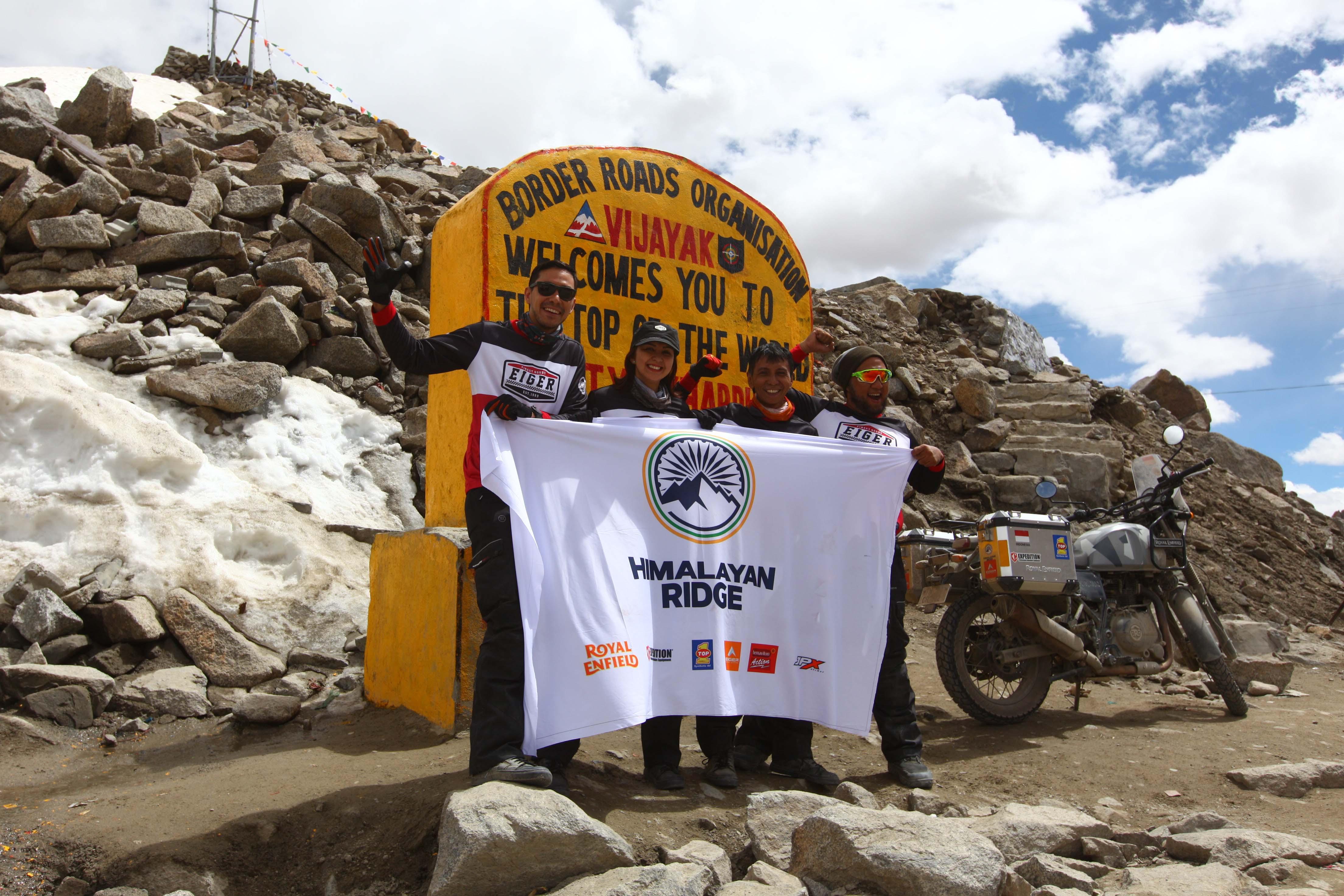 Touring ke Himalaya, Donna Agnesia: Saya Dijebak