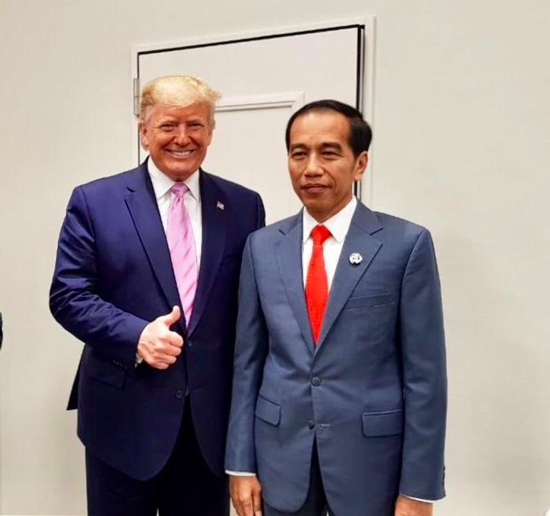 Cengkrama Presiden Jokowi Bersama Para Pemimpin Dunia