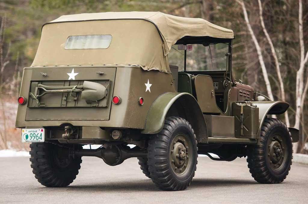 Intip Mobil Militer Perang Dunia Kedia Dodge WC 1942 Klasik