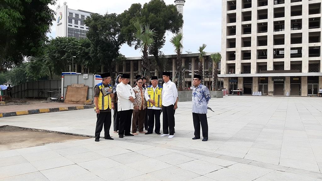 Terowongan Silaturahmi Istiqlal dan Katedral Memperkuat Persaudaraan