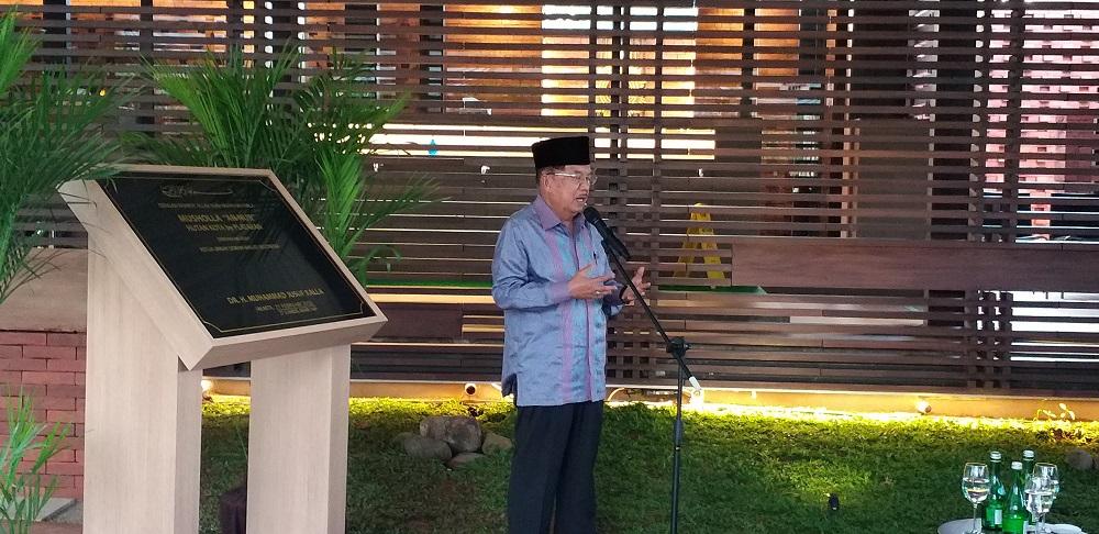 Musala Plataran Senayan Jadi Nomor Wahid Buat JK