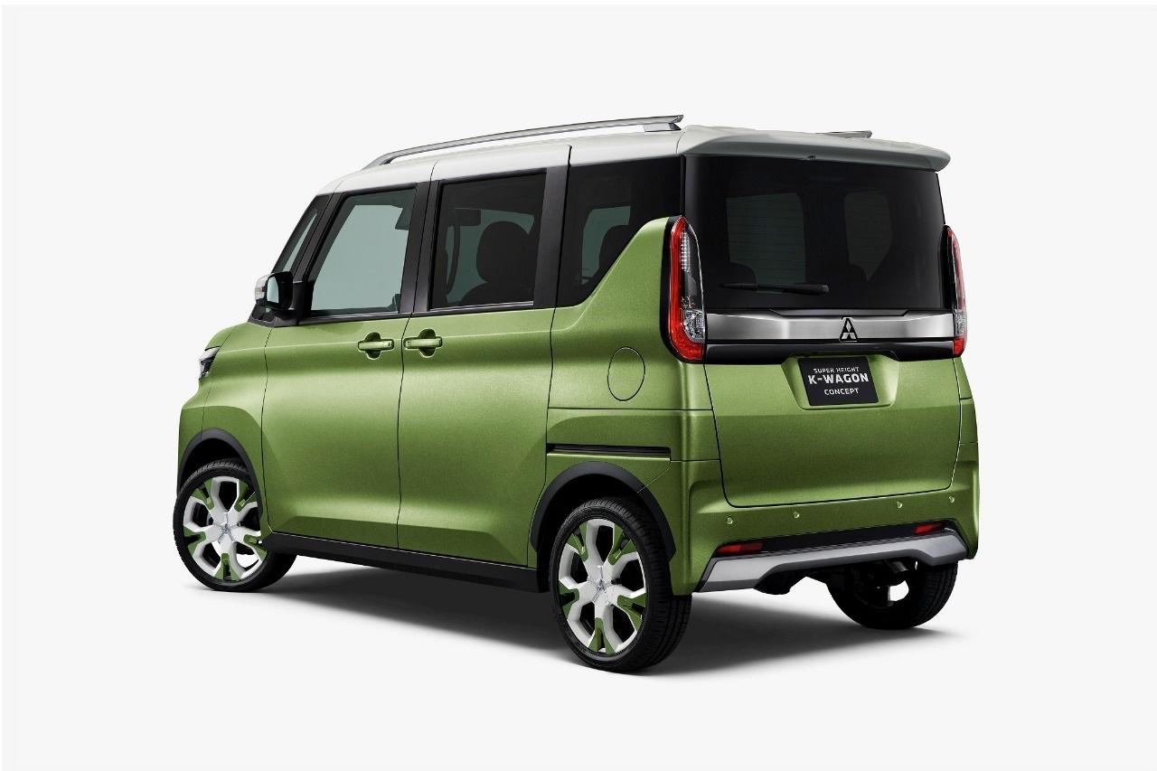 Mitsubishi Super Height K-Wagon Concept Usung Fascia Xpander