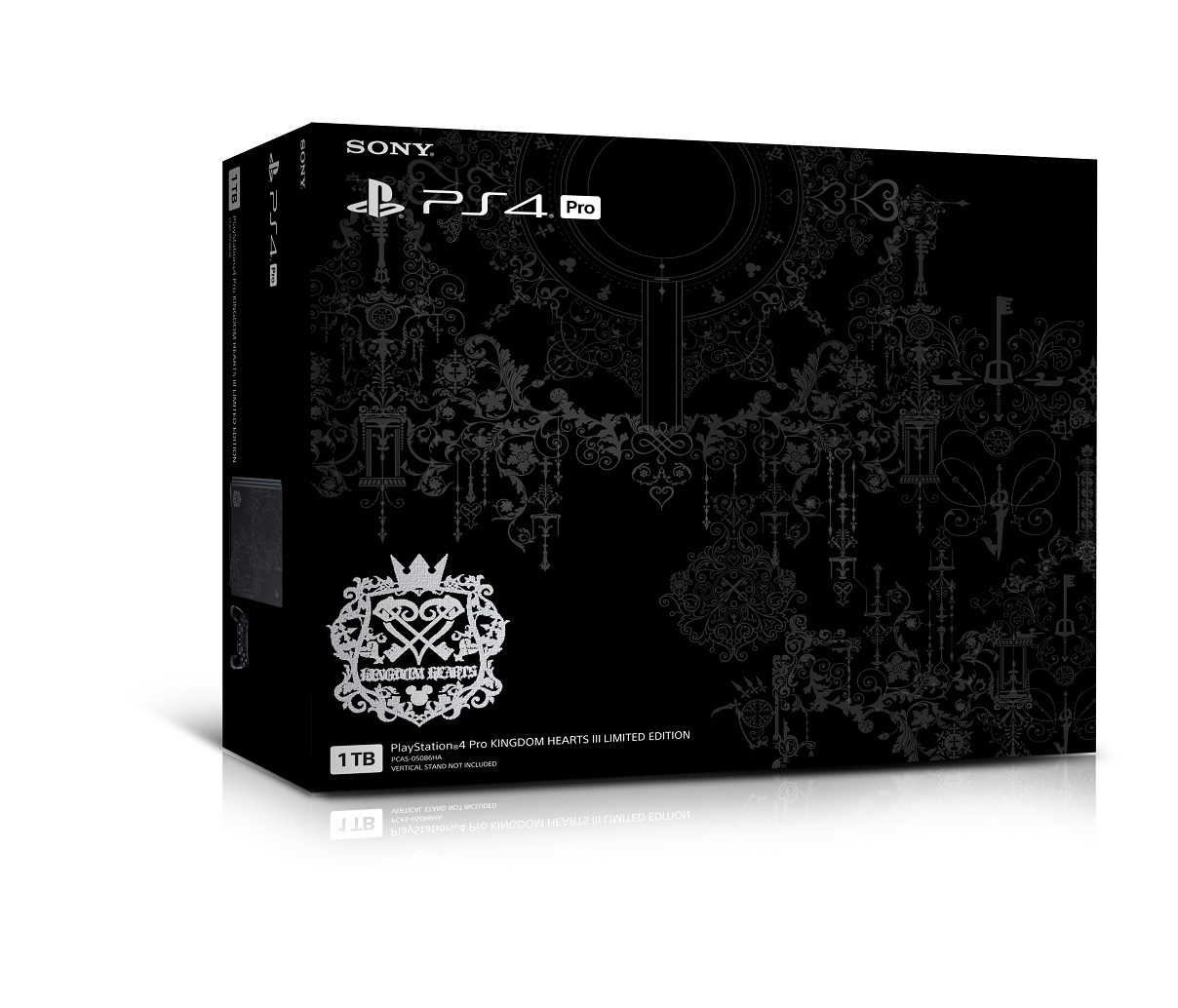Sony Bawa PS4 Pro Kingdom Hearts III ke Indonesia