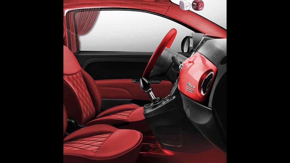 Modifikasi Fiat 500 IniTerinspirasi Kitab Kama Sutera